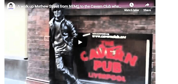 A walk up Mathew Street video