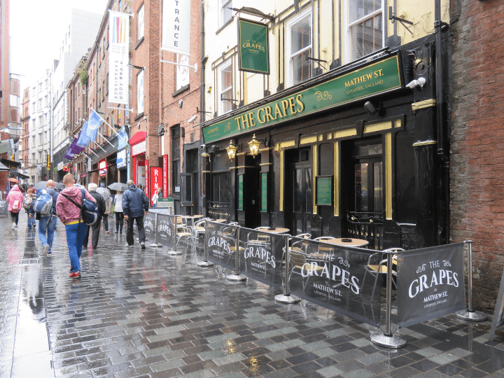 The grape in Mathew Street, Liverpool city centre