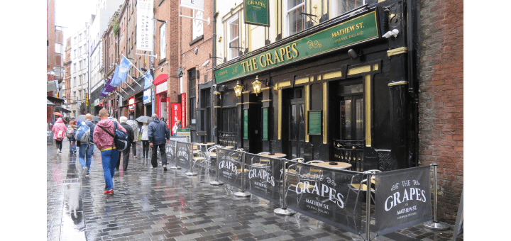 The Grapes in Mathew Street featured image